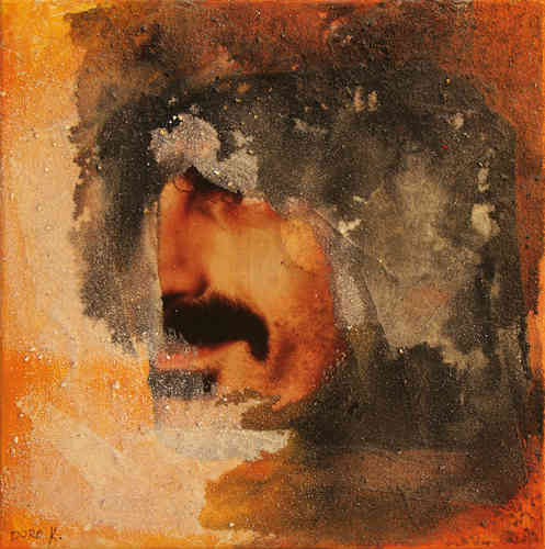 "Dorothee Kuhbandner ""Frank Zappa-Collage #1"""