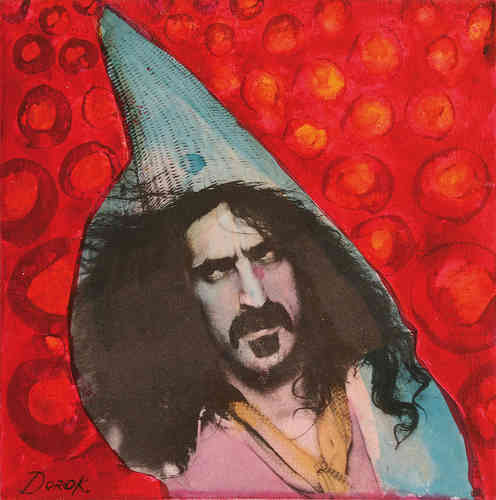 "Dorothee Kuhbandner ""Frank Zappa-Collage #4"""